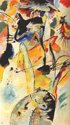 Kandinsky Number 198 1914, oil on canvas 20th century art