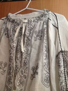16th century Blackwork shirt I made for my husband. Linen and silk ALL hand sewn. The Embroidery took 3 years.
