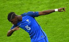 France Iceland: Giroud scores twice as Euro 2016 hosts win Paul Pogba, Manchester United, Pogba Manchester, Fifa Football, Neymar, Messi, Le Dab, Champion Du Monde Foot, Germany