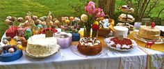 Wedding inspiration: Bohemian Weddings; Goodies table