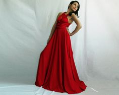 @Kelsey Kieft Etsy is an awesome place too look for bridesmaid dresses. This dress is super affordable and you can wear it a million different ways... and you can get practically any color and length!