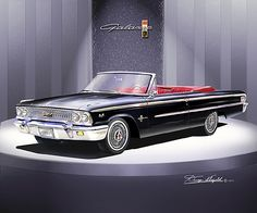 1963 Ford Galaxy 500 Xl Convertible