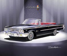 1963 Ford Galaxy 500 Xl Convertible.