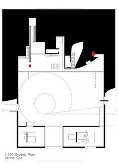 Ground floor - Rem Koolhaas' Bordeaux House