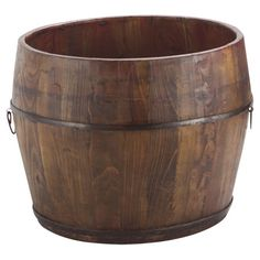 Houston Bucket in Natural; would be great for hose storage