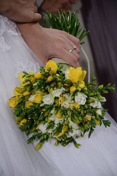 My bouquet Yellow Wedding, Bouquet, Herbs, Easter, Bouquet Of Flowers, Easter Activities, Bouquets, Herb, Floral Arrangements