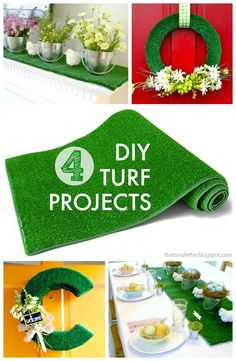 "That's My Letter: ""T"" is for Turf Projects, 4 diy turf projects"