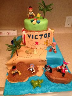 Jake and the Neverland Pirates cake