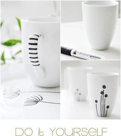 Decorate your cups