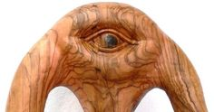 Cyclops olive wood sculpture by ellenisworkshop on Etsy, $950.00