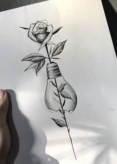 Dark Art Drawings, Art Drawings Sketches Simple, Pencil Art Drawings, Tattoo Drawings, Body Art Tattoos, Sleeve Tattoos, Flower Art Drawing, Art Sketchbook, Tattos