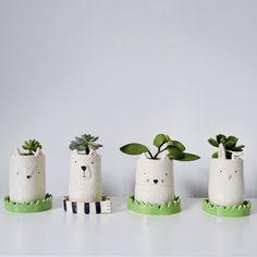 Ceramic Flower Pots, Ceramic Pots, Ceramic Clay, Ceramic Pottery, Diy Clay, Clay Crafts, Moodboard Interior, Clay Art Projects, Art Carte