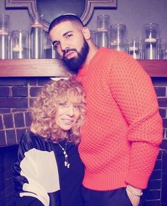 Drake and his mom Sandi #Drake