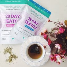 This signature program works 24 hours of the day, detoxifying your body for visible results on your waistline with a faster metabolism, reduced bloat and healthy digestion. 100% natural Teatox program, why not? Get it now at www.skinnymint.com