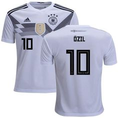 6dc5f0078 Men  10 Ozil Jersey Home Germany National 2018 FIFA World Cup