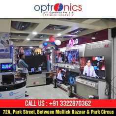 Buy mobiles, cameras, laptop, and other electronics from our showroom at discount rates. Venue: 72A, PARK STREET Call Us at: +91 3322870362