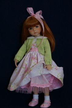Sold for $88.75 on 2/15/14 from ladybugs doll designs on ebay.