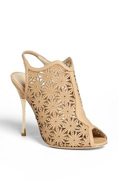 Nicholas Kirkwood Slingback Bootie available at #Nordstrom