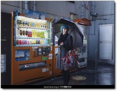 "2013 Taylor Wessing 肖像摄影奖 入围作品 摄影师:Julia Fullerton-Batten 拍摄作品:""Harajuka, Tokyo"""