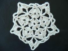 Blocking Crochet - Willow full motif blocked