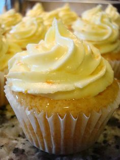 recipe for Screwdriver Cupcakes-so good!