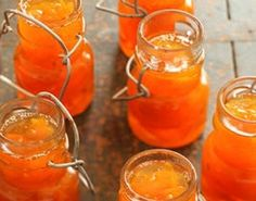This is a good marmalade for beginners as it isn't too fiddly to make. Recipes Using Fruit, Jam Recipes, Gourmet Recipes, Sweet Recipes, Vegetarian Recipes, Dessert Recipes, Cooking Recipes, Jelly Recipes, Desserts