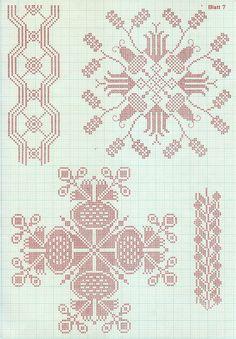 think visual: Alpine foreign hand-work patterns