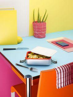 Actualité / Le déjeuner revisité par l'écal / étapes: design & culture visuelle