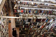And The Strand stands alone. Book heaven.
