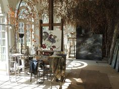 CLAIRE BASLER photographer----if life was fair, this would be my studio.