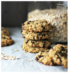 Wholehearted Eats : Oatmeal Carob Cookies