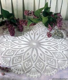 Pretty and Easy Crochet Doily for Beginners (43)