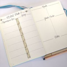 Weekly Spread Ideas for Bullet Journals