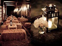 COUNTRY wedding decor | Found on schnackstudios.com