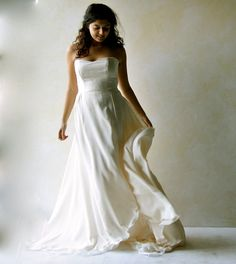 Train wedding dress Bridal Gown Fairy wedding gown by LoreTree