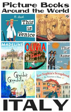 Picture Books about Italy from Youth Literature Reviews.