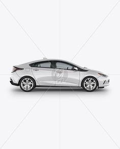 Chevrolet Volt Mockup - Side View