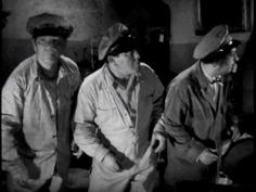 """The Three Stooges """"The Ghost Talks"""" (1949)."""