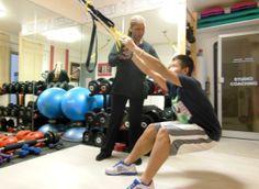 Coaching en musculation et TRX avec Maxim.  Tina Anglio a 21 ans expérience, elle va vous accompagner exactement dans votre objectif. A vous de tenir le cap pour être au RDV.