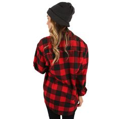 You Always Keep Me Cozy Unisex Flannel Red