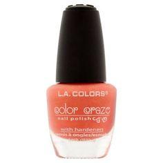 L.A. Colors Color Craze NP415 Magnetic Force Nail Polish, 0.44 fl oz, Orange
