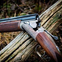 Zoli Pernice Round Body Game Gun. Double Barrel, Hunting Guns, Custom Guns, Custom Knives, Shotgun, Firearms, Old School, Weapons, Bullets