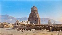 Mamelouk ruins, Cairo by Ludovico Marchetti