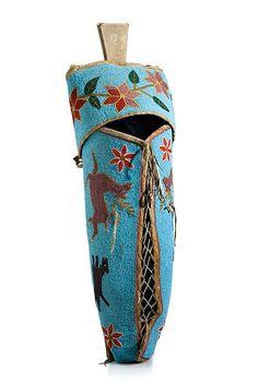 Native American Cradle A Plateau child's beaded hide cradle board - sablon Native American Baby, Native American Clothing, Native American Design, Native American Artifacts, Native American Indians, Native Americans, Native Beadwork, Native American Beadwork, Native Indian