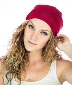 8e40add648c Red SLAP or Satin Lined Cap  satinlinedcaps  satinlined  geslap  geslaps  Relaxed Hair