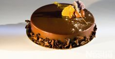 Bizcocho de chocolate con cobertura #nestlecocina #recetas