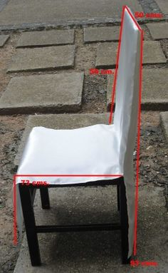 fundas sillas eventos - Buscar con Google Dining Chair Slipcovers, Dining Chairs, Banquet Chair Covers, Garden Architecture, Sewing Rooms, Diy Chair, Sofa Covers, Cover Design, Decoration