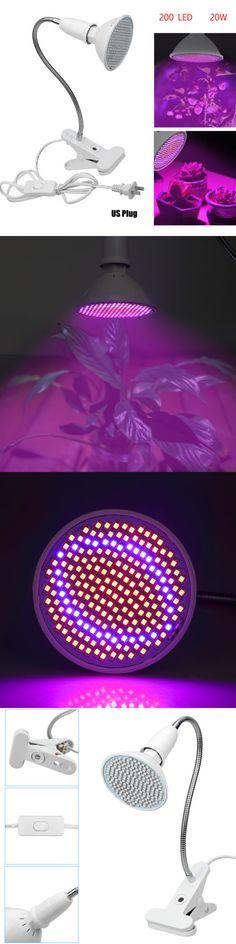 Grow Light Bulbs 178988: 1Xled Plant Grow Light Lamp Bulbs Flexible Desk Holder Clip Plants Flower Indoor -> BUY IT NOW ONLY: $13.88 on #eBay #light #bulbs #plant #flexible #holder #plants #flower #indoor Grow Light Bulbs, Grow Lights For Plants, Led Grow Lights, Indoor Flowers, Lamp Bulb, Growing Vegetables, Indoor Garden, Lamp Light, Planting Flowers