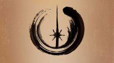 Dharma and Star Wars: Matthew Bortolin Star Wars Tattoo, Star Tattoos, Tatoos, Nerd Tattoos, Anchor Tattoos, Feather Tattoos, Star Wars Stencil, Star Wars Art, Jedi Symbol