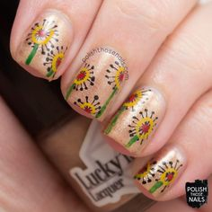 Polish Those Nails // The Digit-al Dozen - Whimsy #4 (Inspired by goodbloom)